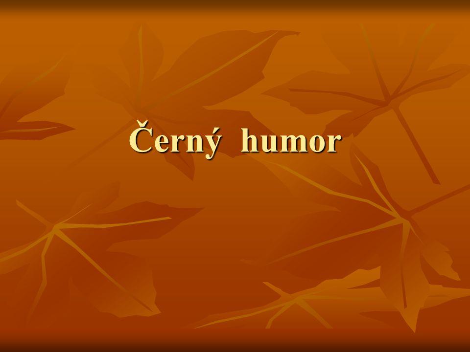 Černý humor