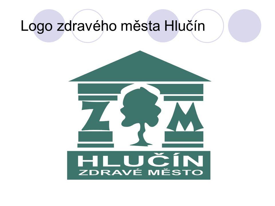 Logo zdravého města Hlučín