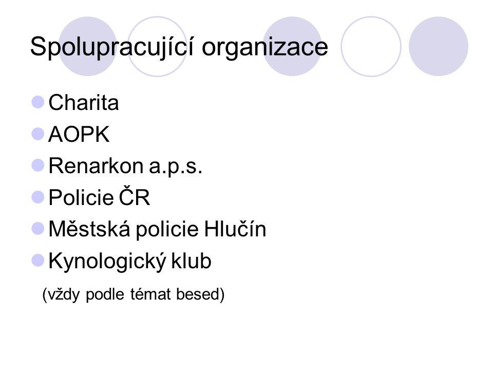 Spolupracující organizace Charita AOPK Renarkon a.p.s.