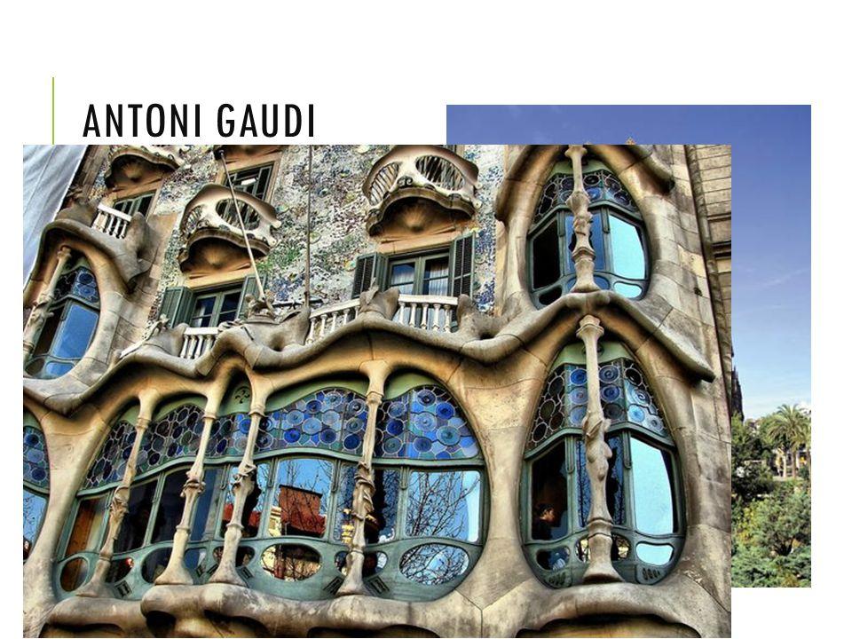 ANTONI GAUDI Sagra da familia, Barcelona