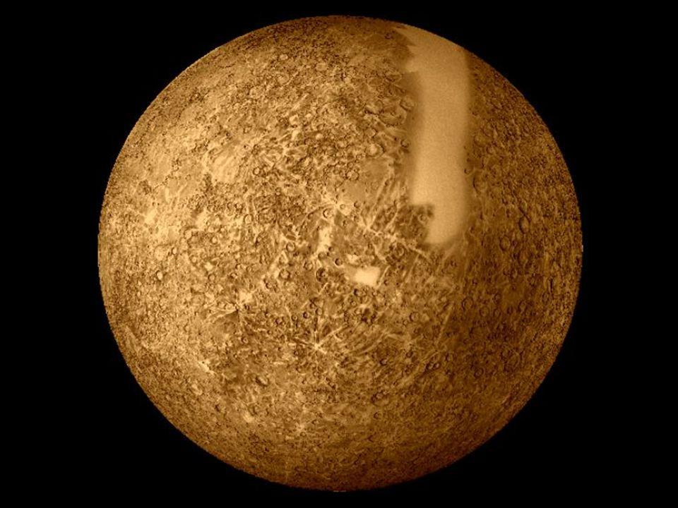 Venuše Druhá planeta od Slunce.Má velmi hustou atmosféru, tvořenou převážně oxidem uhličitým.