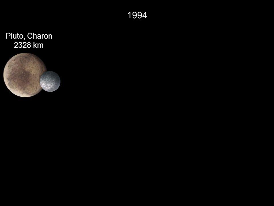 1994 Pluto, Charon 2328 km