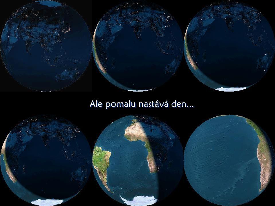 Noční osv ě tlení Zem ě Noční osv ě tlení Zem ě