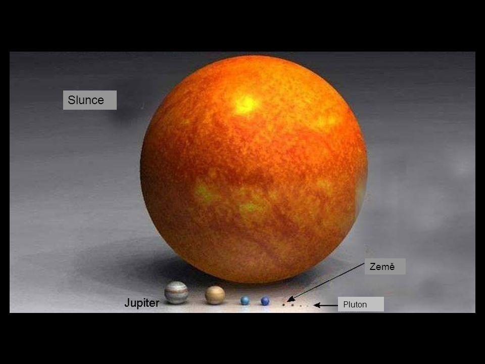 Slunce Země Pluton