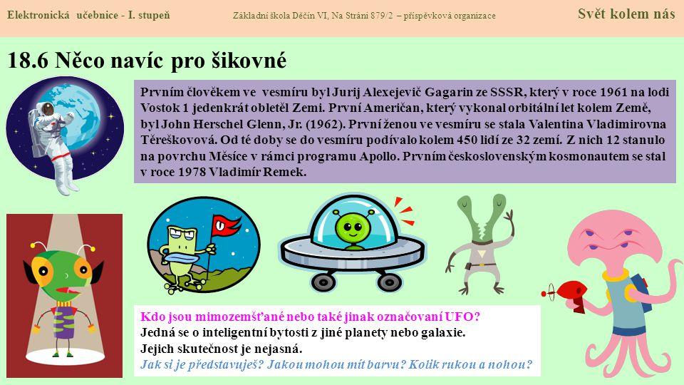 18.6 Něco navíc pro šikovné Elektronická učebnice - I.