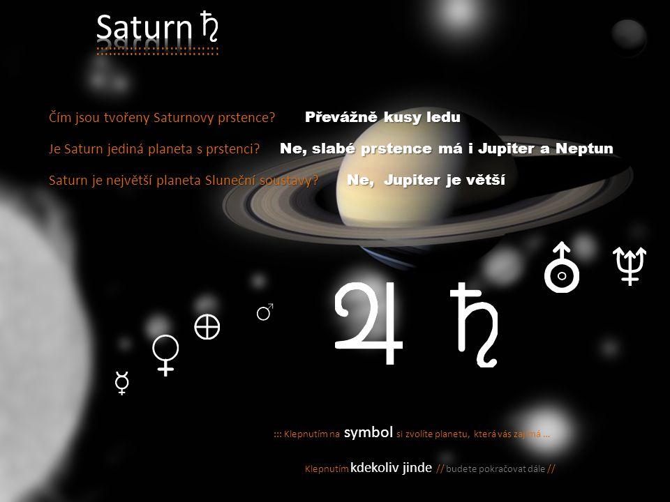Díky svým prstencům je považován za jeden z nejkrásnějších objektů ve vesmíru. Díky svým prstencům je považován za jeden z nejkrásnějších objektů ve v