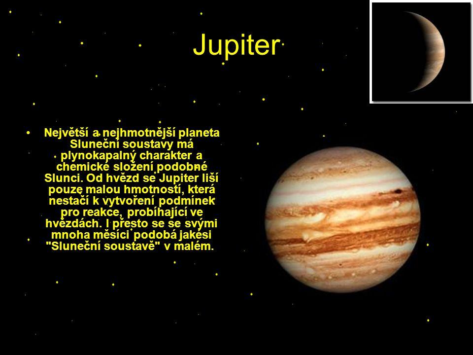 Saturn Saturn, v pořadí 6.planeta od Slunce, druhá největší planeta Sluneční soustavy.