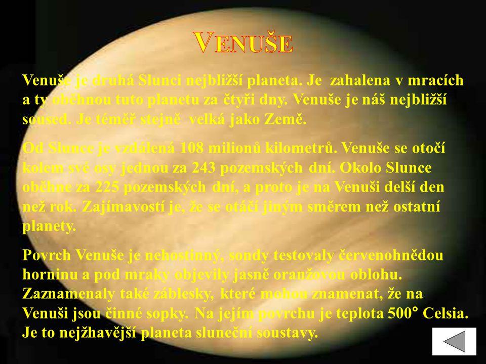 J UPITER Jupiter je největší planeta sluneční soustavy.