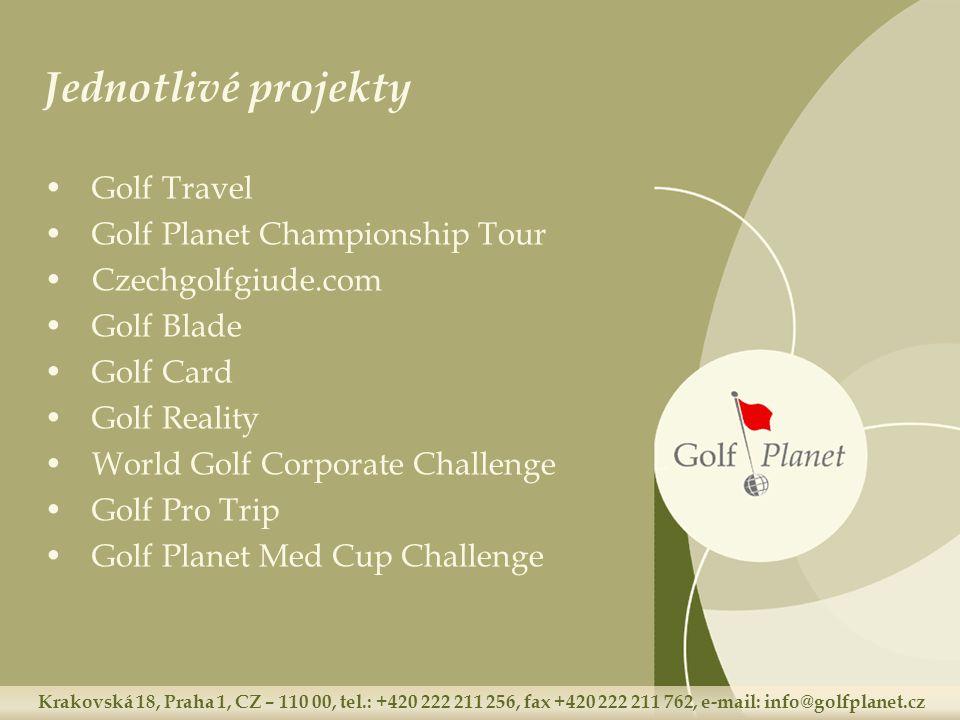 Krakovská 18, Praha 1, CZ – 110 00, tel.: +420 222 211 256, fax +420 222 211 762, e-mail: info@golfplanet.cz Kontakty Golf Planet s.r.o.