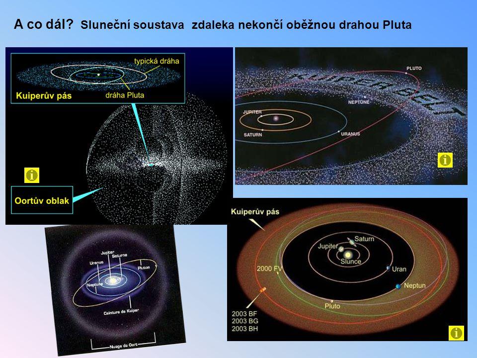 A co dál? Sluneční soustava zdaleka nekončí oběžnou drahou Pluta