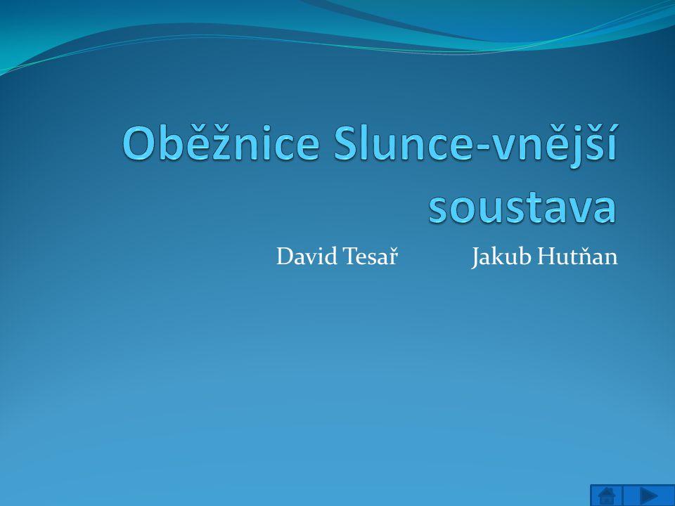 David Tesař Jakub Hutňan