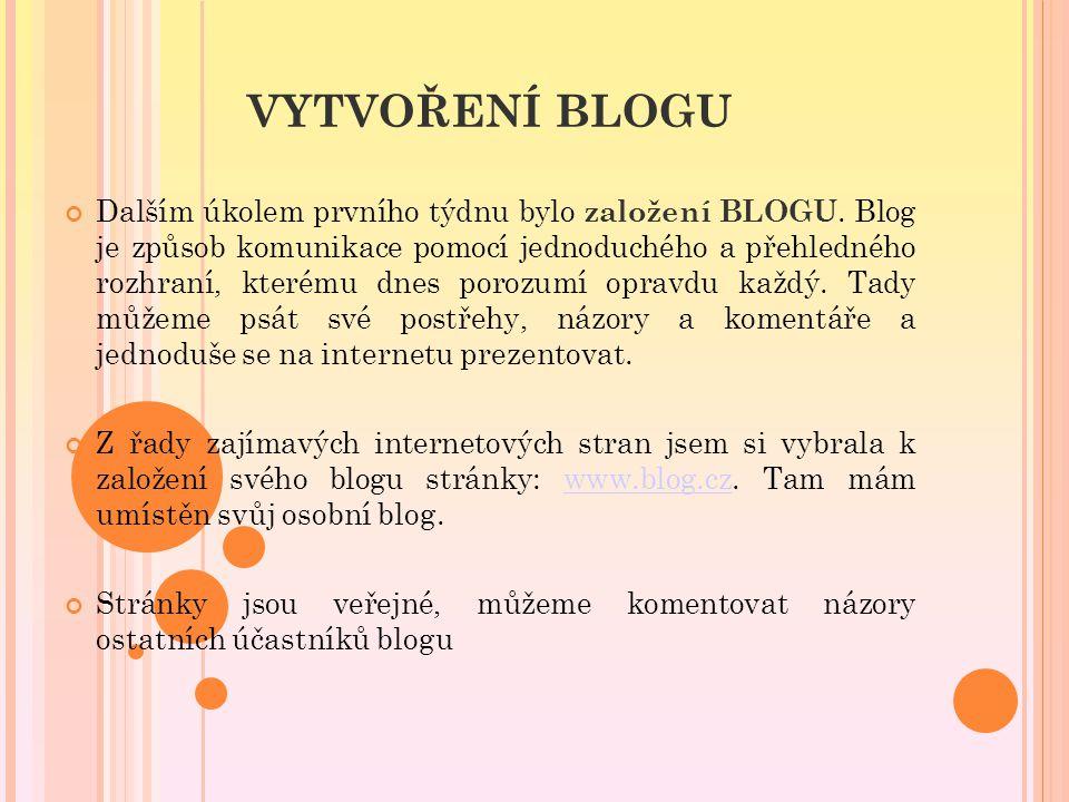 Pozadí mého blogu: siskovavero.blog.cz