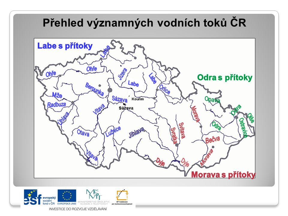 Úkol: Z atlasu zjisti nej… o vodních tocích ČR NEJVODNATĚJŠÍ TOK NEJDELŠÍ ŘEKA 2.