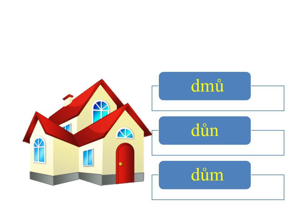 dmů důn dům