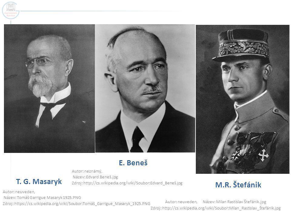 T. G. Masaryk Autor: neuveden, Název: Tomáš Garrigue Masaryk 1925.PNG Zdroj: https://cs.wikipedia.org/wiki/Soubor:Tomáš_Garrigue_Masaryk_1925.PNG M.R.