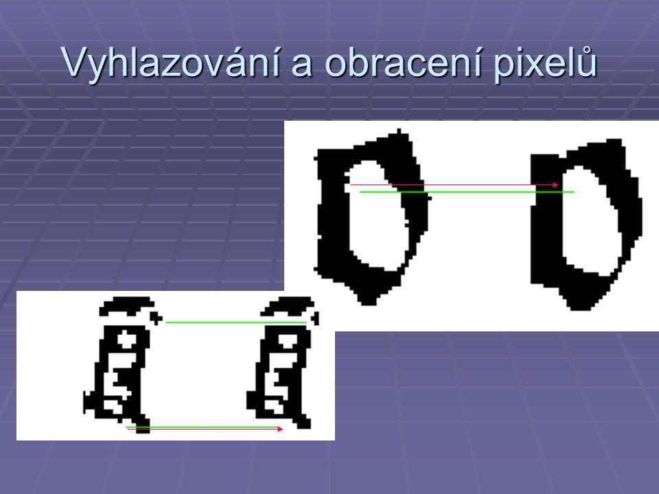 Vyhlazování a obracení pixelů