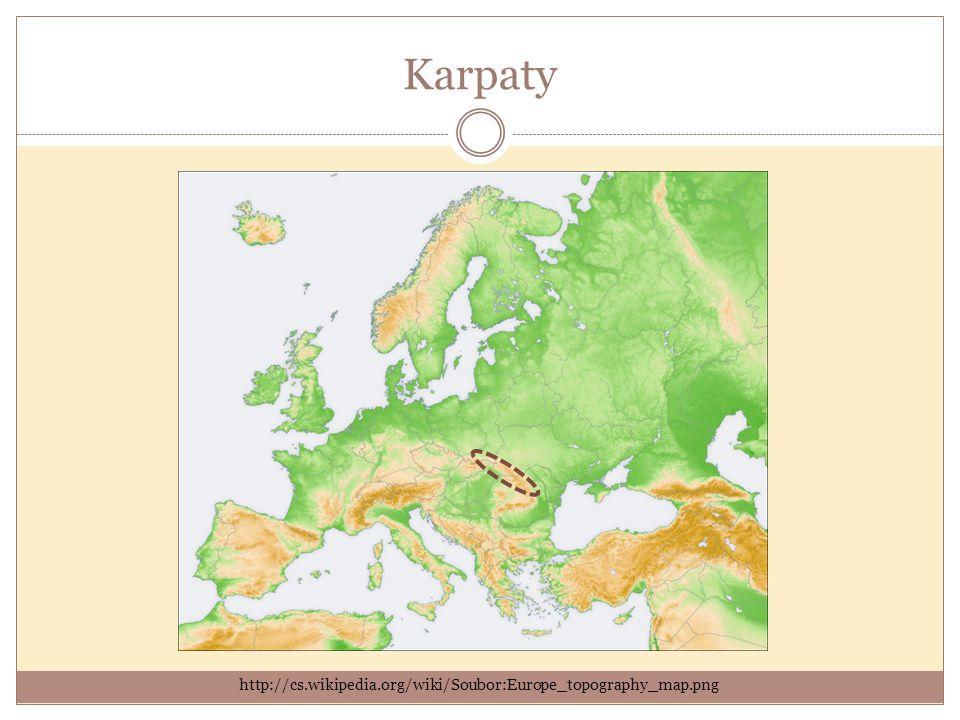 Kavkaz http://cs.wikipedia.org/wiki/Soubor:Europe_topography_map.png