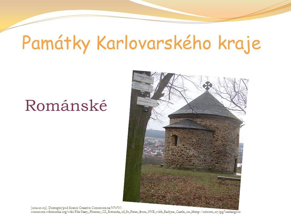 Památky Karlovarského kraje Románské [2011-10-03]. Dostupný pod licencí Creative Commons na WWW: commons.wikimedia.org/wiki/File:Stary_Plzenec_CZ_Rotu