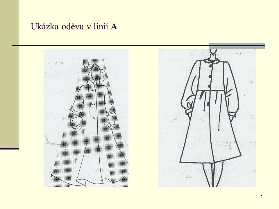 14 Ukázka oděvu v linii H