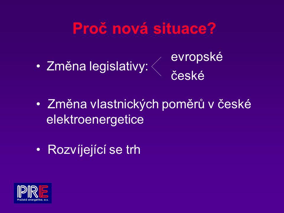 Změna legislativy: Proč nová situace.