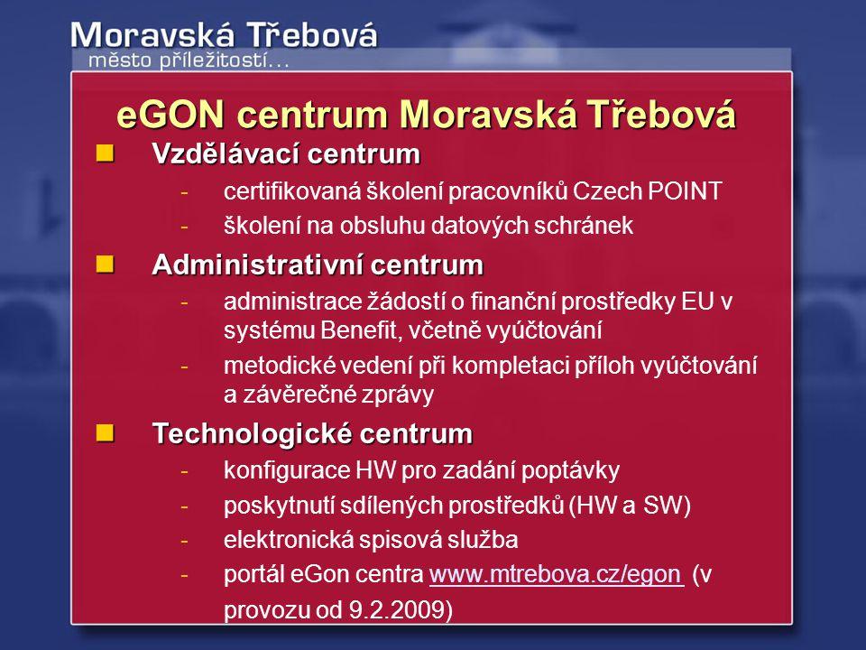 Vzdělávací centrum Vzdělávací centrum -certifikovaná školení pracovníků Czech POINT -školení na obsluhu datových schránek Administrativní centrum Admi