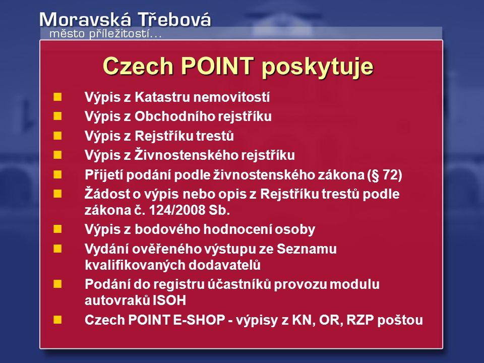 Statistika Czech POINT