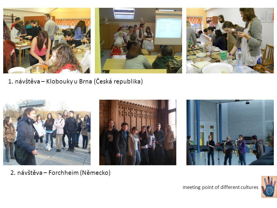 2. návštěva – Forchheim (Německo) 1. návštěva – Klobouky u Brna (Česká republika)