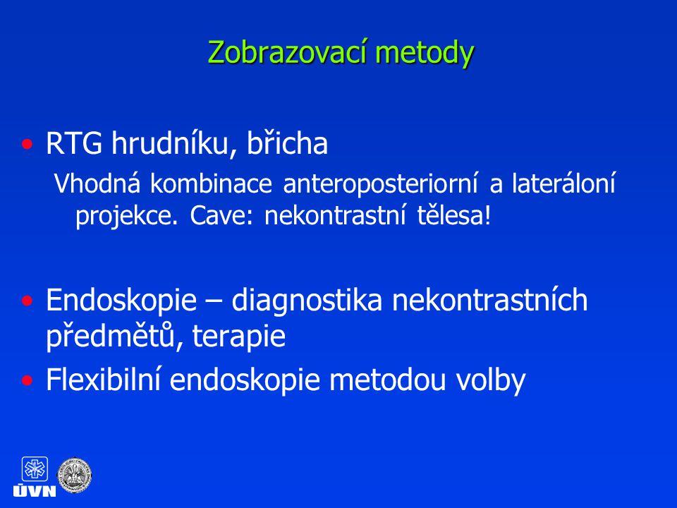 RTG hrudníku, břichaRTG hrudníku, břicha Vhodná kombinace anteroposteriorní a lateráloní projekce.