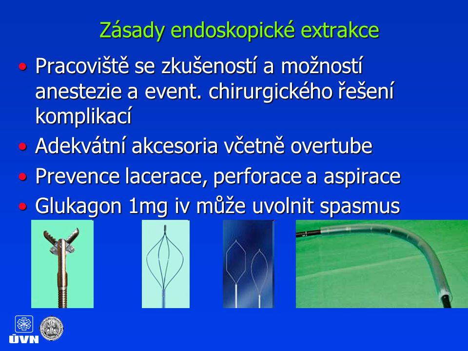 Endoskopická extrakce