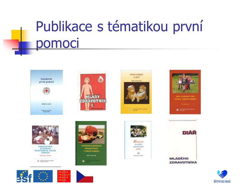 Publikace s tématikou první pomoci