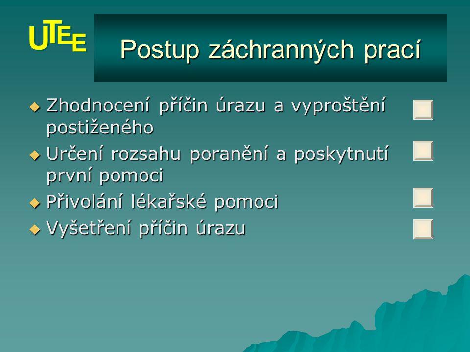 © 2004 UTEE FEKT VUT v Brně První pomoc