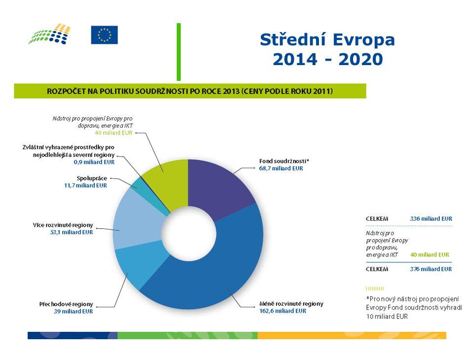 Střední Evropa 2014 - 2020