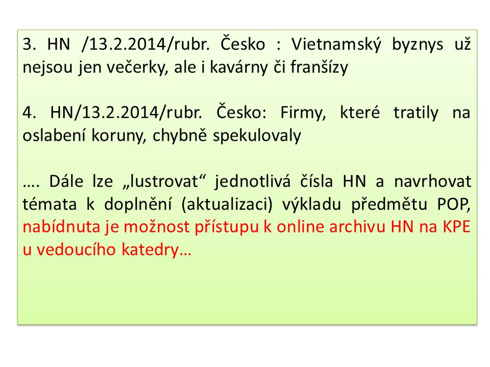 3.HN /13.2.2014/rubr.