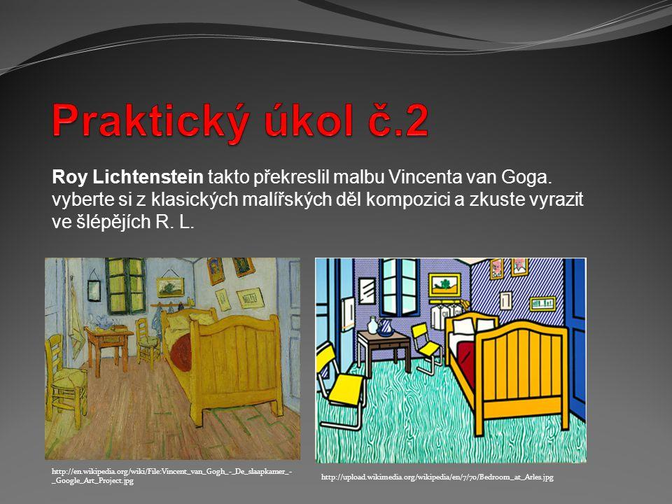 http://en.wikipedia.org/wiki/File:Dicktracy1238.jpg http://upload.wikimedia.org/wikipedia/en/3/35/Amazing_Fantasy_15.jpg Inspirováni pop artem vytvořte krátký komiks.