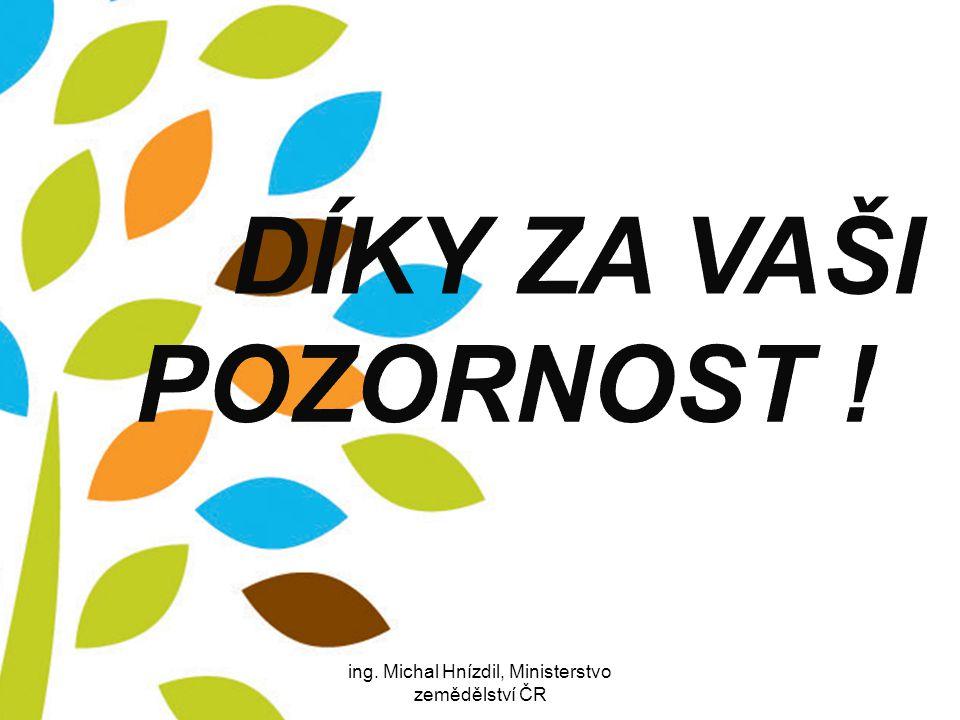 25.8.201429ing. Michal Hnízdil, Ministerstvo zemědělství ČR