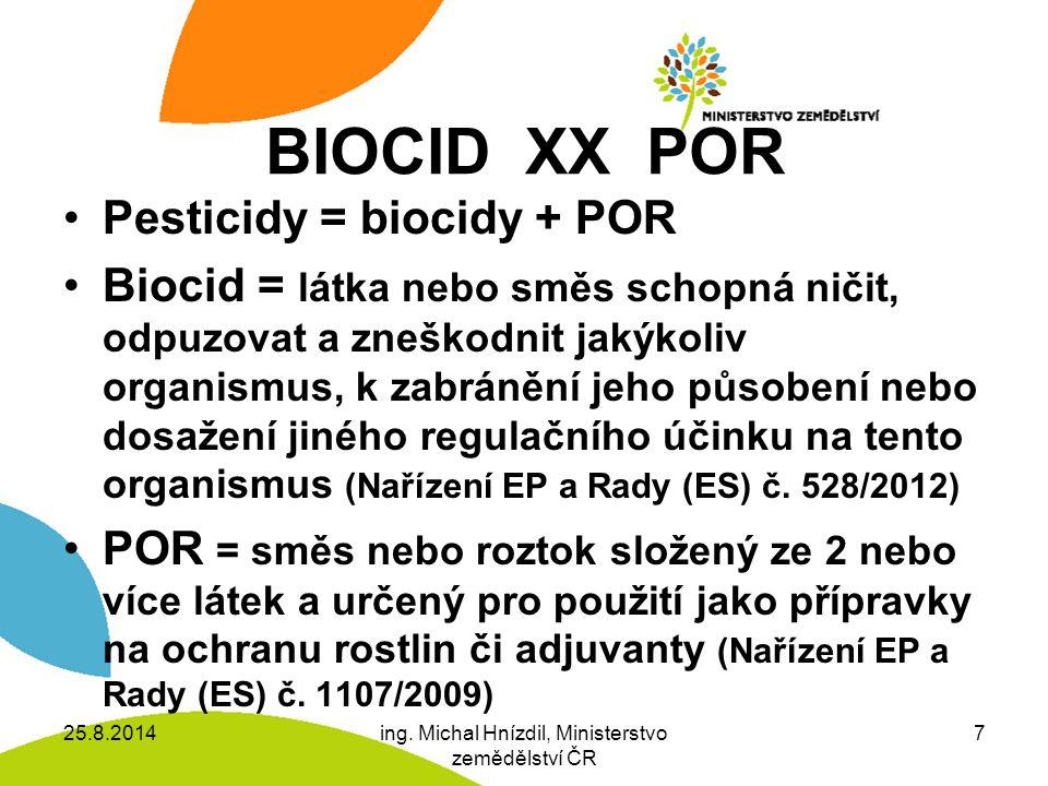 BIOCID XX POR Disinfekční prostředek k udržení vitality řezaných květin, mj.