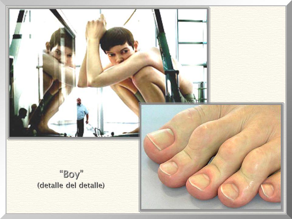 Boy , 1999 Rozmery sochy: 4,90m x 4,90m x 2,50m