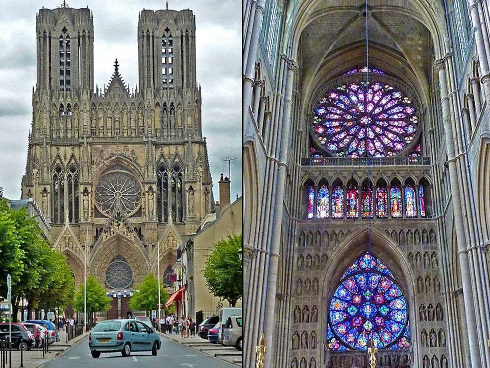 Reims – tradiční místo korunovace francouzských králů. je město ležící v samotném srdci vinařského kraje Champagne, asi 150 kilometrů severovýchodně o