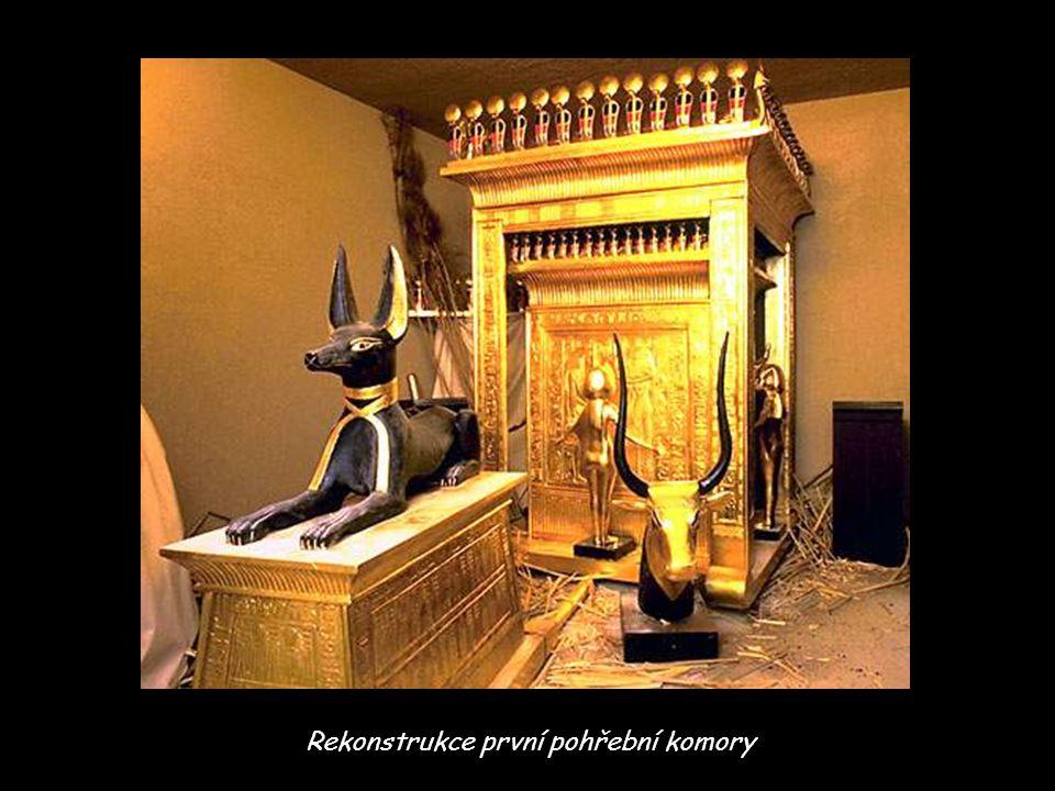 Rekonstrukce první pohřební komory