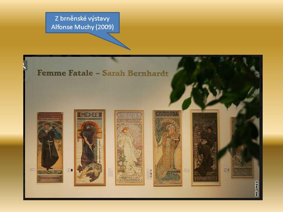 Alfonse Muchu lze považovat i za autora prvních reklamních plakátů u nás; reklamní tvůrce nového stylu.