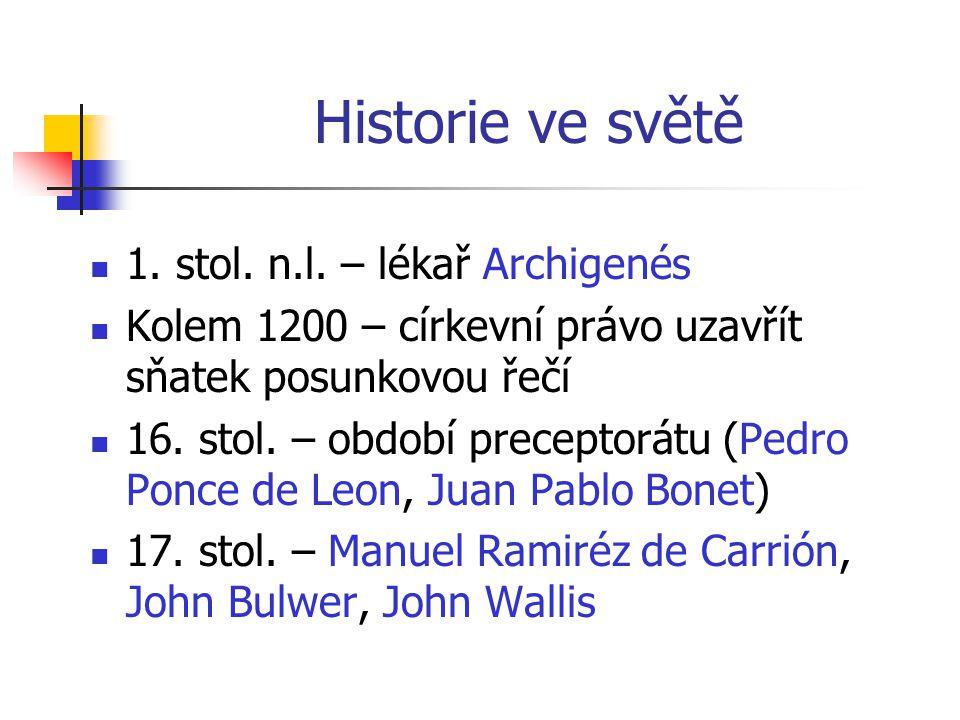 Historie ve světě 1.stol. n.l.