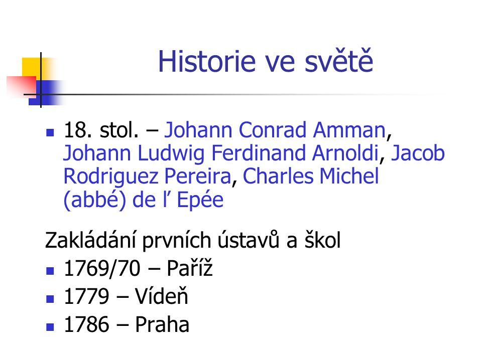 Historie ve světě 18.stol.