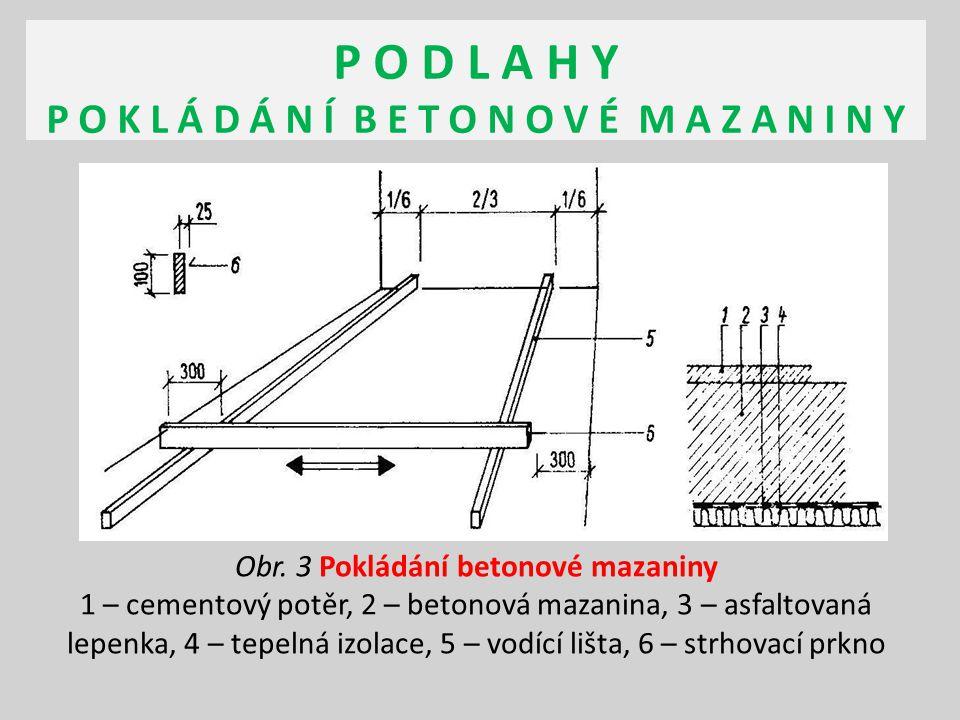 P O D L A H Y P O T Ě R Y - C E M E N T O V Ý cementový potěr se skládá z cementu (pojivo), záměsové vody a přísad přísady jsou písky – zrnitost 0/8, od tloušťky potěru 40 mm štěrk zrnitosti 0/16 pojivo je portlandský cement CEM I 32,5 R vhodné příměsi mohou ovlivnit např.