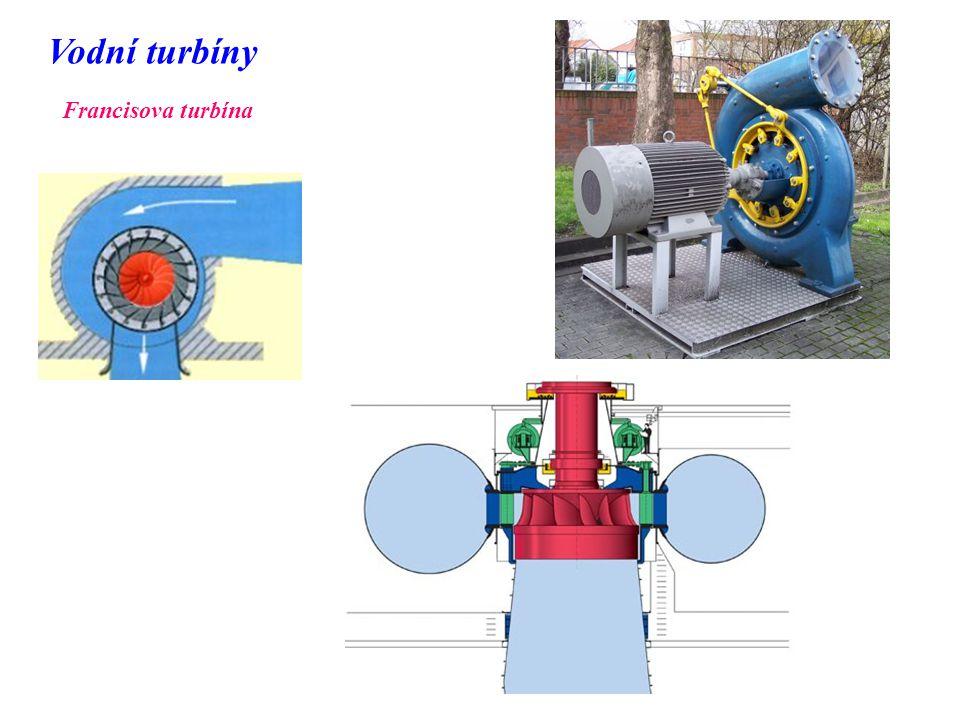 Vodní turbíny Francisova turbína