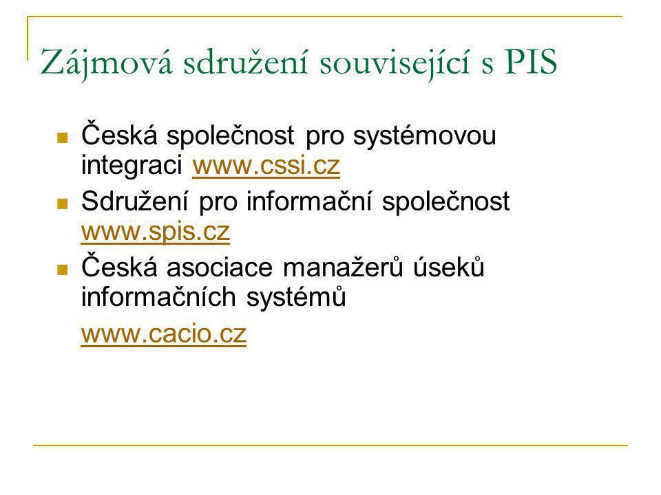 Definice informačního systému INFORMAČNÍ SYSTÉM (IS) je uspořádaný souhrn prvků a činností, spolu s jejich vlastnostmi a vztahy, který transformací dat vytváří informace pro uživatele.