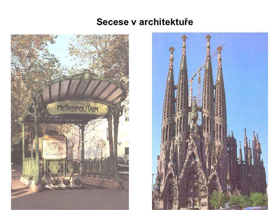 Secese v architektuře