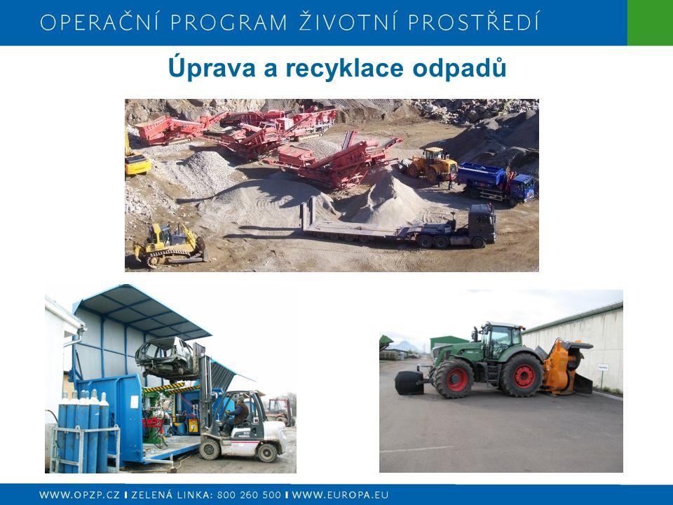 Úprava a recyklace odpadů