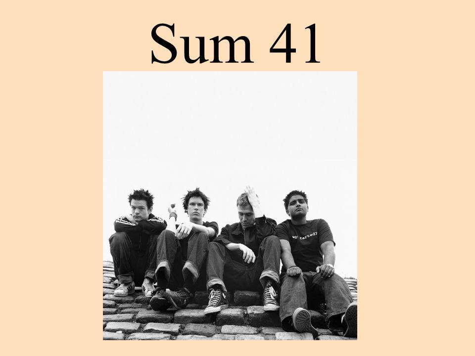 Kytarista Dave se k Sum 41 připojil jako třetí.