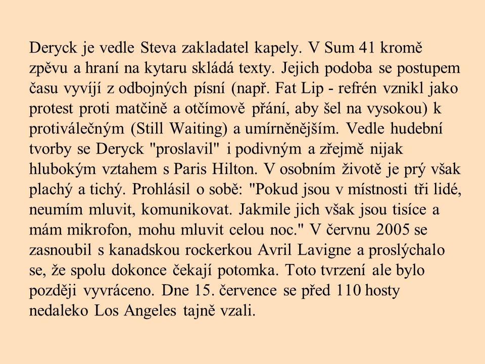 Stevo Jocz jméno: Steven Martin Jocz narozen: 23.7.