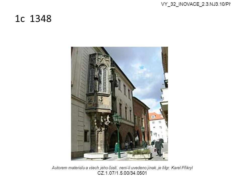 2.Wo befindet sich dieses Rathaus. a) am Altstädter Ring b) am Kleinseitner Ring.